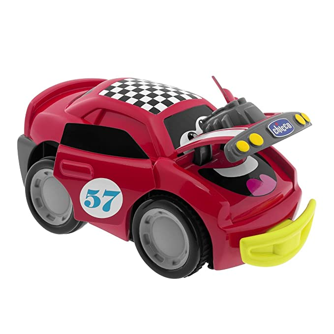 Chicco - Coche Turbo Touch Crash Derby, color rojo (00006716000000): Amazon. es: Juguetes y juegos