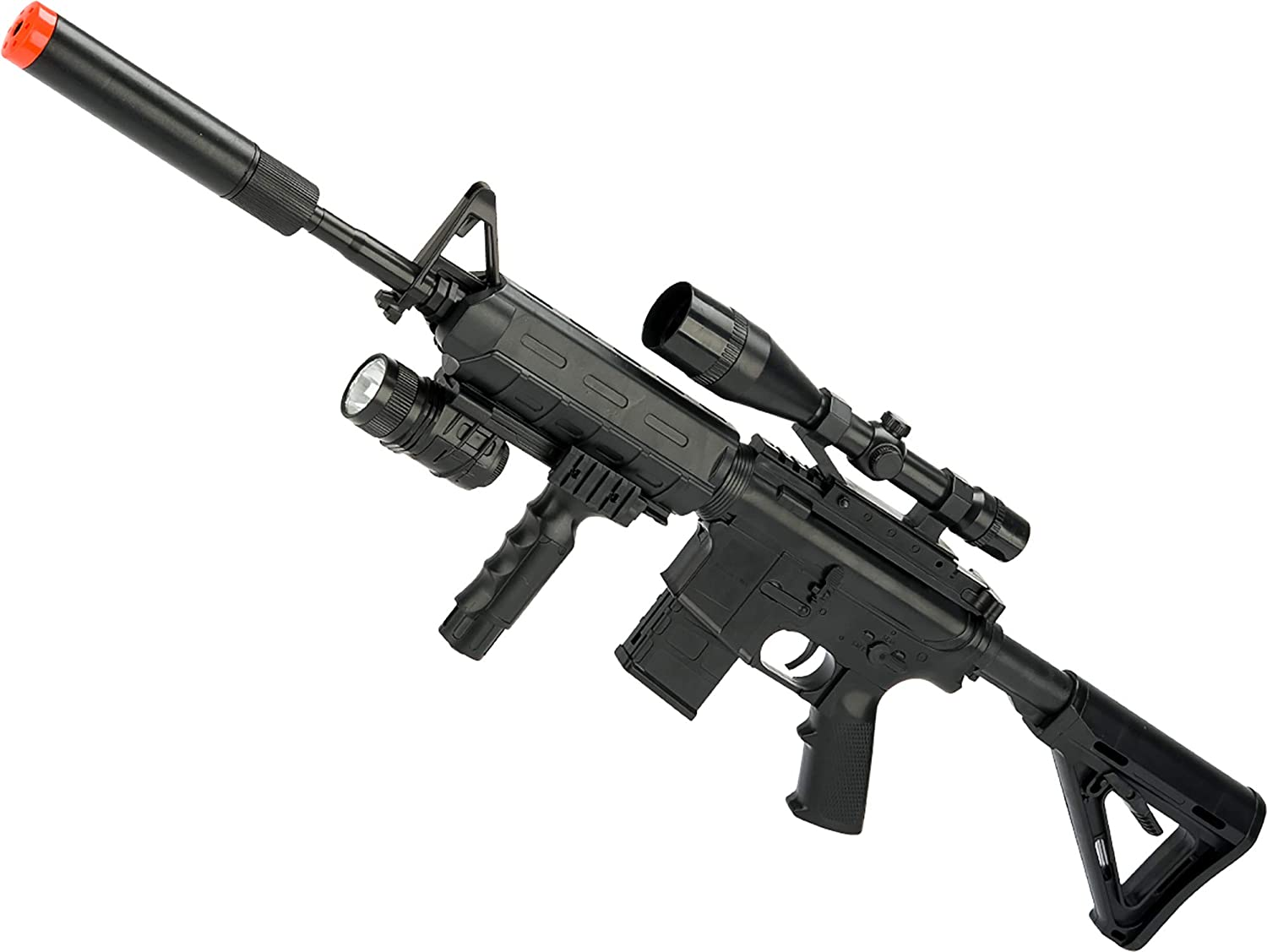 Evike CYMA 3/4 Scale Spring Powered Airsoft M4 Rifle (Color: Black)