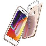 【Spigen】 iPhone8 ケース / iPhone7 ケース 対応 TPU 超薄型 超軽量 マット仕上げ リキッド・クリスタル 042CS21247 (マット・ブラック)