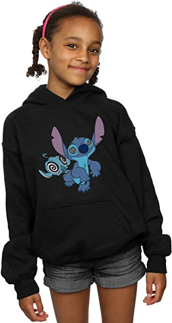 Disney Girls Lilo /& Stitch Hypnotized Hoodie