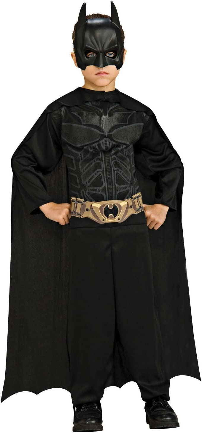 Batman I-4866 - Disfraz de Batman el caballero oscuro (talle 8 - 10 anos)