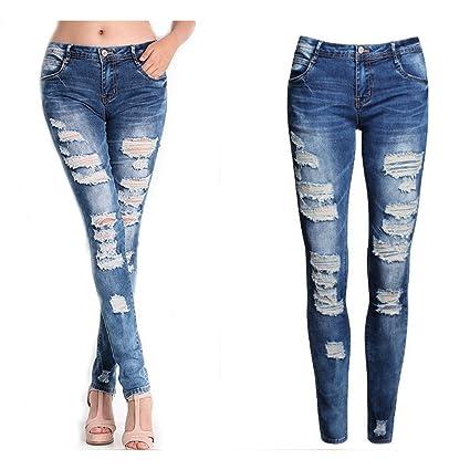 912ed1c778 Amazon.com: Hot Sale!!! Women Sexy Denim Skinny Pants GoodLock High Waist  Stretch Jeans (Small): Sports & Outdoors