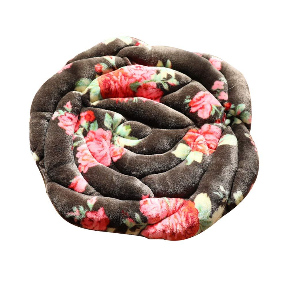 ZFM Cuscini per Giardino Cuscino Rosa Cuscino per Sedia da Ufficio Cuscino per Sedili Cuscino da Giardino Cucina da Pranzo,A,40 40CM