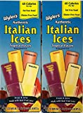 Best Ice Popsicles - Wylers Italian Ices Authentic Tropical Flavors ((2) 16CT Review