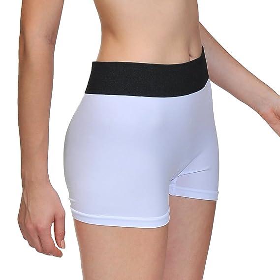 ca29ad0e16e7b LastFor1 Women Underwear Boyshorts Panties Briefs Pack Plus Size 3 Pack 3  White M