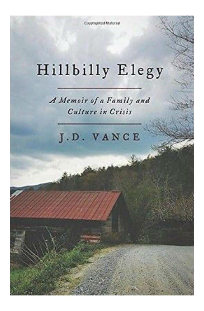 Hillbilly Elegy: un Emoticono de J. una Familia y Cultura en Crisis por J. de D. Vance e2dd0f