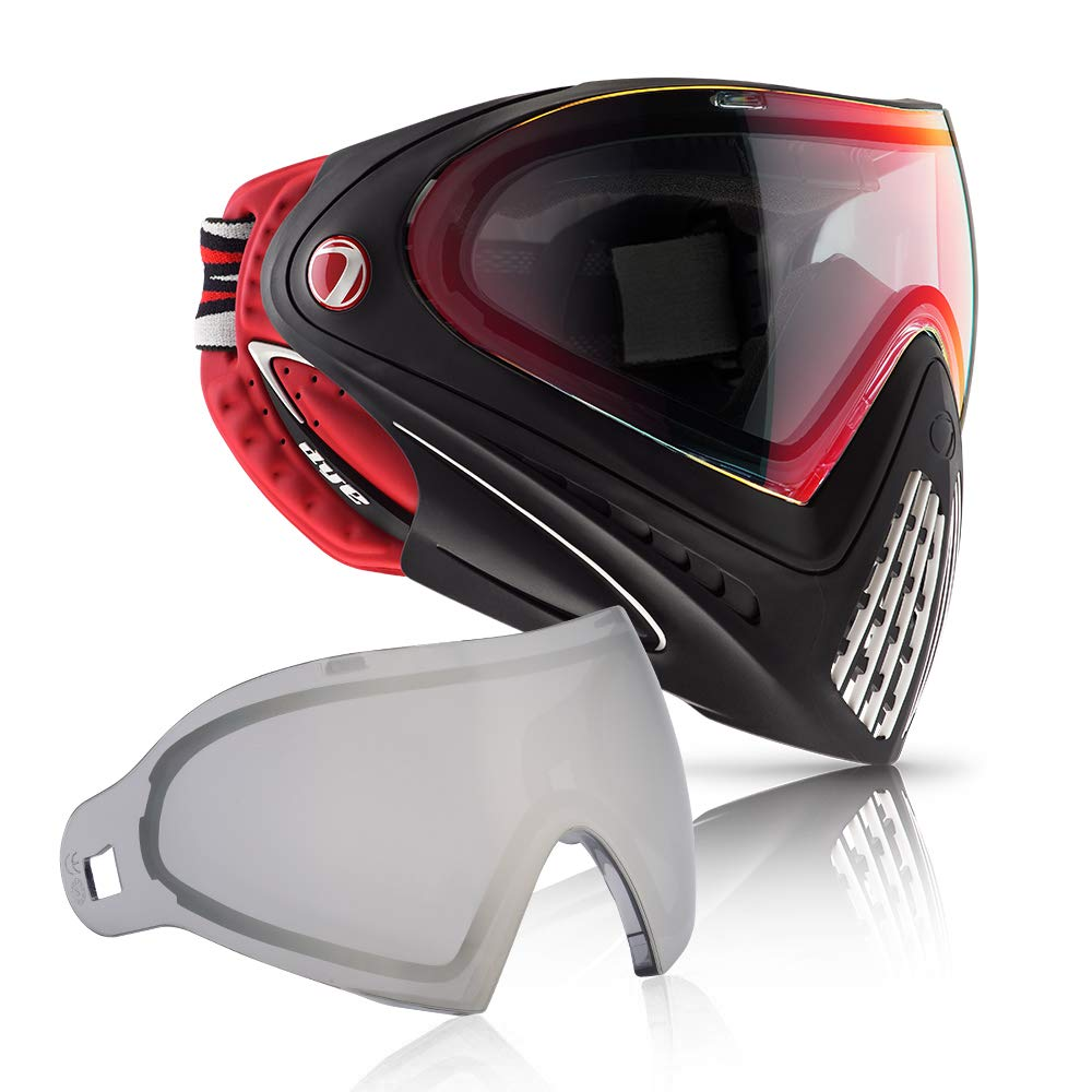 Dye i4 Paintball Goggle (Dirty Bird with Smoke/Silver Thermal Lens Combo) by Dye