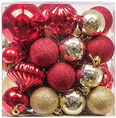 Red And Gold Christmas Decorations Uk from images-na.ssl-images-amazon.com