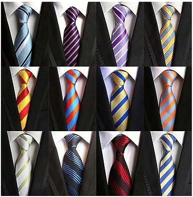 Style 7 Weishang Lot 12 PCS Classic Men/'s Tie Necktie Woven JACQUARD Ties