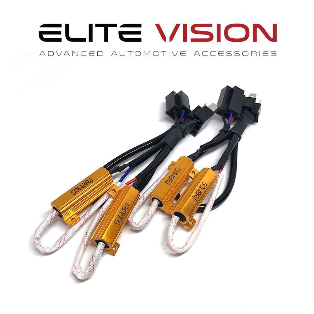Elite Vision Advanced Automotive Accessories - HID/LED Resistors H4 (9003)