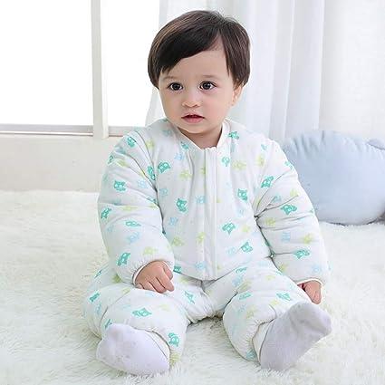XING GUANG Saco De Dormir para Bebés Otoño E Invierno Algodón Grueso Nuevo Bebé  Piernas Saco e8afbb0d6db0