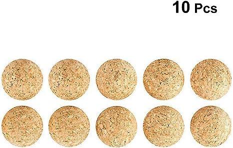 lioobo pelotas de futbolín de corcho para Reemplazo de fútbol sobre mesa 10pcs: Amazon.es: Deportes y aire libre