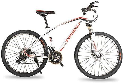 Marco De Acero Al Carbono Bicicleta De Montaña Ruedas De 26 ...