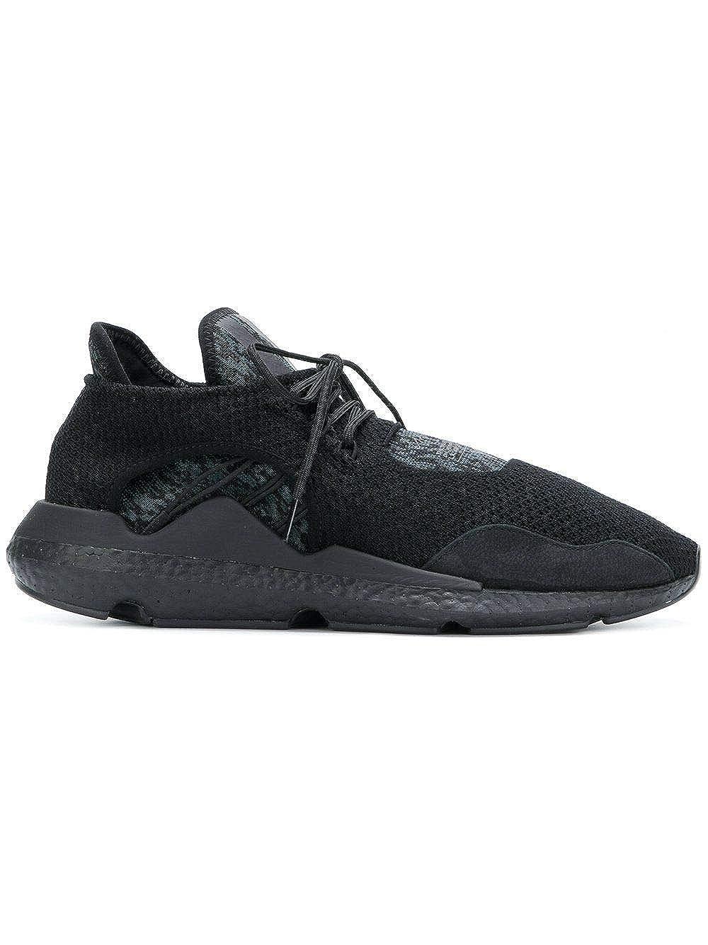 wholesale dealer 8061b 40f6c Amazon.com   Adidas Y-3 Yohji Yamamoto Men s AC7197 Black Polyamide  Sneakers   Fashion Sneakers