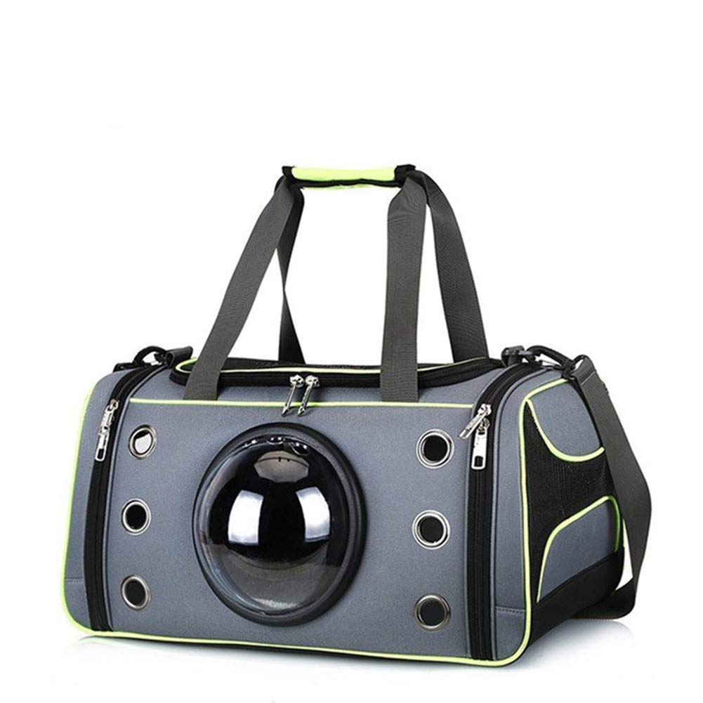 Green S Green S GTTBS Space Capsule Pet Cat Backpack Bubble Window Cat Puppy Small Dog Carrier Box Outdoor Travel Bag Cave