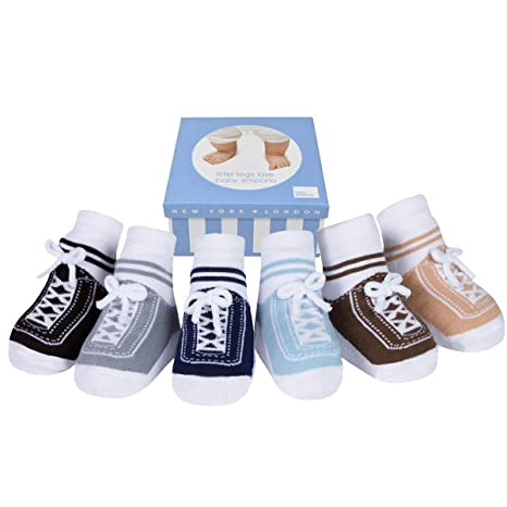 Baby Boys 1st Shoes Brown or Navy Blue by Soft touch 0-12 Months