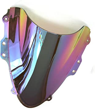 Areyourshop Parabrisas doble burbuja para GSXR 600//750 2001-2003 K1