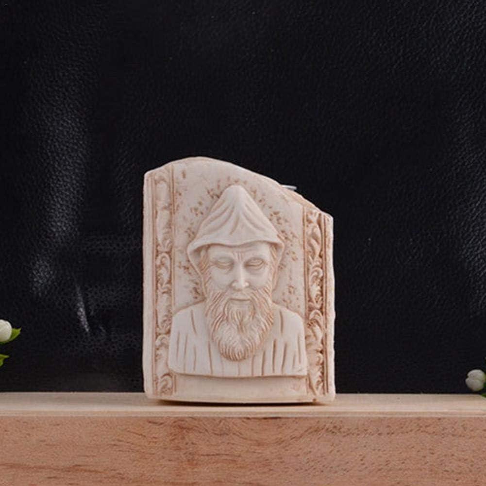 Jannyshop J/ésus Christ Figurine De Bureau pour Religieux et Spirituel D/écor /À La Maison D/écoratif Statues Chr/étiennes