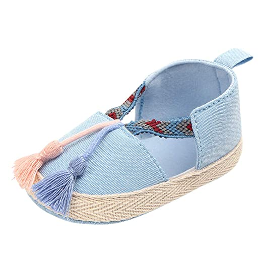 9c988b095ed77 Amazon.com: Infant Baby Boy Girl Walking Shoes 0-18 Months, Toddler ...