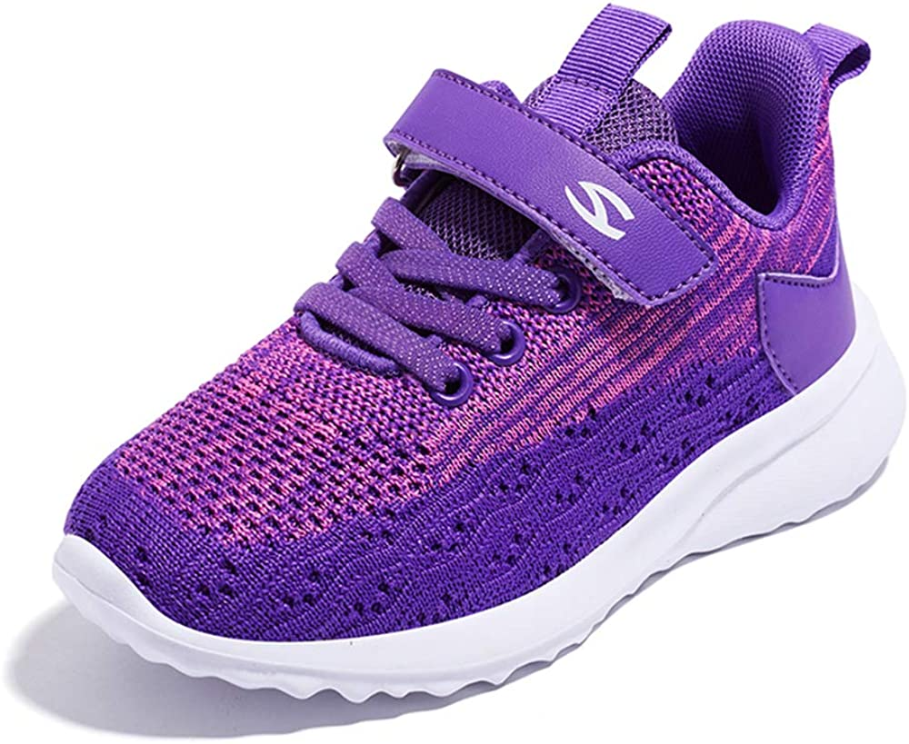 Sneakers Enfant Baskets Montantes Garcon Chaussure de Course Mode Garcon Fille Sport Running Shoes Competition Entrainement 25-36