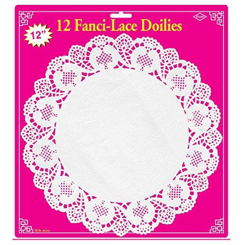 Fanci Lace - Fanci-Lace White Bond Doilies   (12/Pkg)