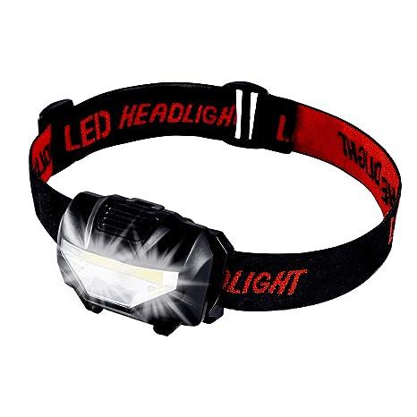 Xndryan Led Cob Frontale Lampe Avec 3 Lumineuse Ultra Modessangle hxdtrsQC