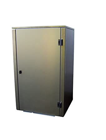 Gero Metall Verkleidung Fur Mulltonnen Mulltonnenbox Fur Eine 120