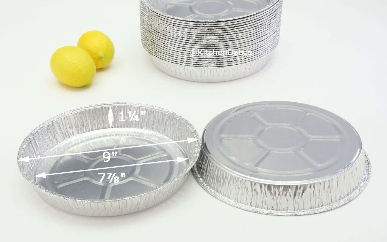 Disposable Aluminum 9 '' Round Cake Pan #9100 By Durable Packaging (250)