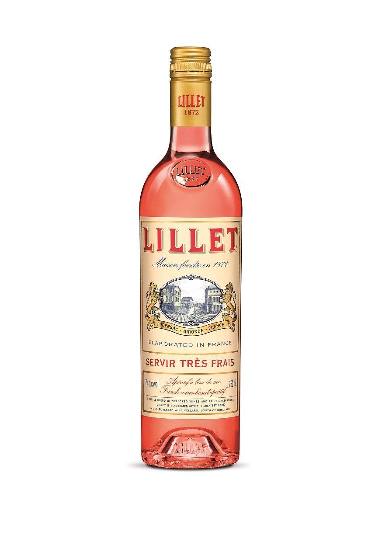 Lillet Rosé französischer Aperitif – Weinaperitif mit frischer ...