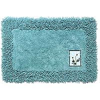 WEST BAY 100% Cotton Chenille Rug Mat, Non-slip Microfiber Carpet,Doormat,Bath Mat,Rug Carpet,Floor Rug,Wash or dry without deformation, kitchen mat absorbent door mat, perfect for Home Decor