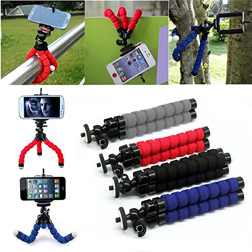 Cell Phone Flexible Octopus Bracket Holder Stand Mount for Phone Camera Tool Free - Sunglasses Shop Voucher