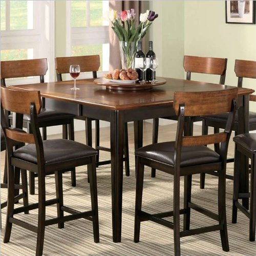 Coaster Home Furnishings Casual Counter Height Table, Brown