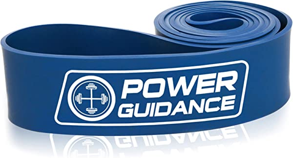 POWER GUIDANCE Pull Up Assist Bands Heavy Duty Resistance Band Mobility & Powerlifting Exercise Bands, Perfect for Body Stretching, Powerlifting