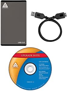 Apricorn EZ-Upgrade SATA Notebook Hard Drive Upgrade Kit with USB 3.0 Connection and Enclosure EZ-UP3