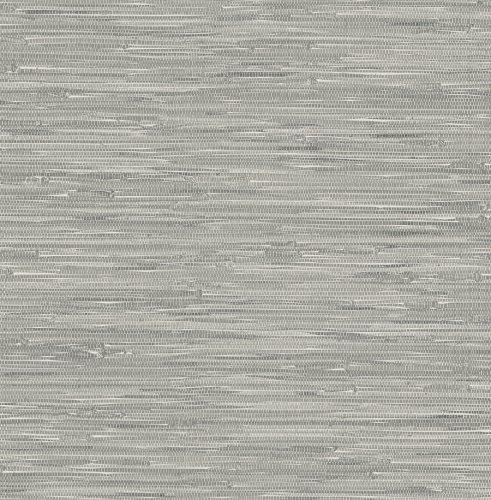 Faux Grass Cloth Wallpaper (NuWallpaper NU2083 Tibetan Grass Cloth Peel and Stick Wallpaper, 20.5