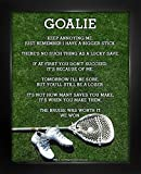 "Framed Lacrosse Goalie Cleats 8"" x 10"" Poster Print"