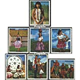 Paraguay 2518-2524 (complete.issue.) unmounted mint / never hinged 1973 Folklore (Stamps for collectors) by Prophila Collection