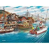 Cobble Hill Fishing Harbor, 500-Piece