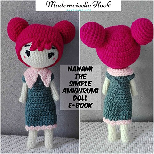 Nanami the Simple Amigurumi doll crochet pattern