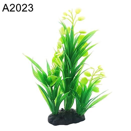 Originaltree Figura decorativa de acuario artificial para acuario, acuario o pecera, diseño de hierbas de agua: Amazon.es: Productos para mascotas