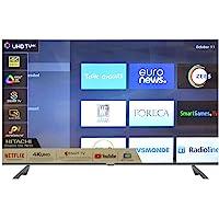 Hitachi 165 Cm (65 Inch) 4K Ultra HD Smart LED TV LD65HTS08U (Black) (2019 Model)