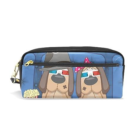 BENNIGIRY - Estuche para lápices de dos lindos perros ...