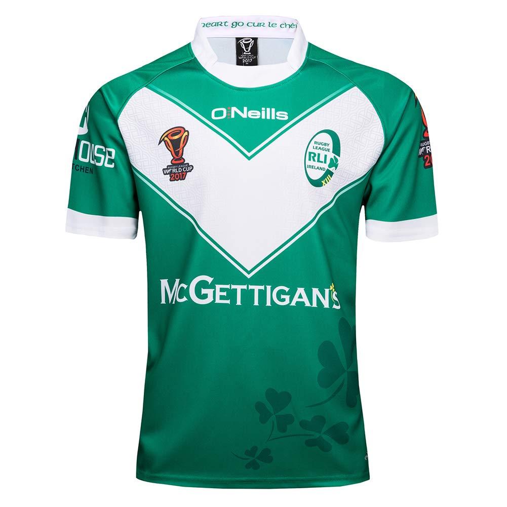 AFDLT 2019 Copa Mundial Ireland Home Polo Shirt Hombre Rugby ...