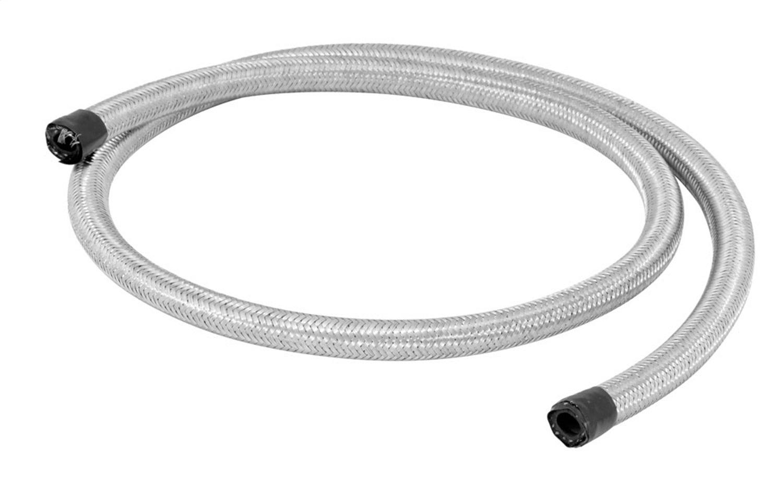 Spectre Performance (29304) 5/16'' x 4' Stainless Steel Flex Fuel Line
