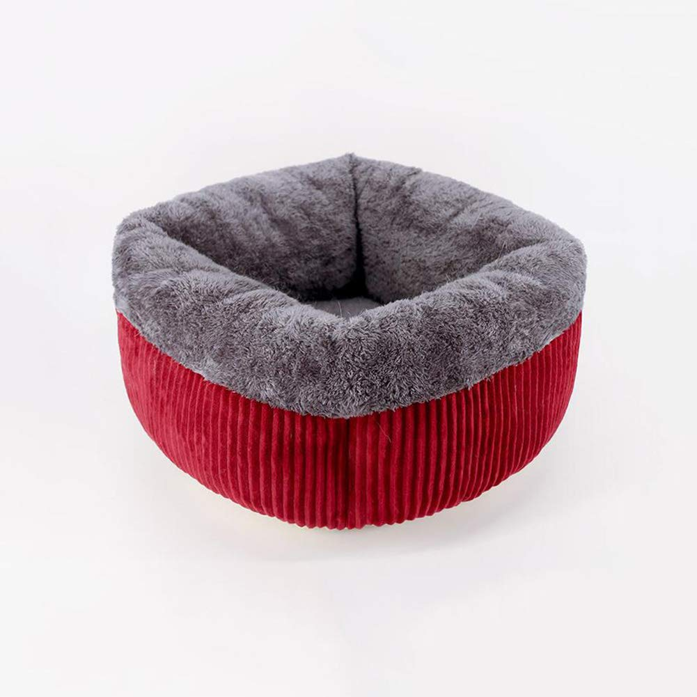 Red S Red S FF Cat Nest Closed Cat House Four Seasons General Purpose Kennel Cat House Pet Supplies (color   Red, Size   S)