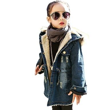 fc356cb9401c7 デニムコート アウター 中長め子供服 ブルゾン キッズ 女の子 ジャケット アウター 子供向きコート ブルゾン