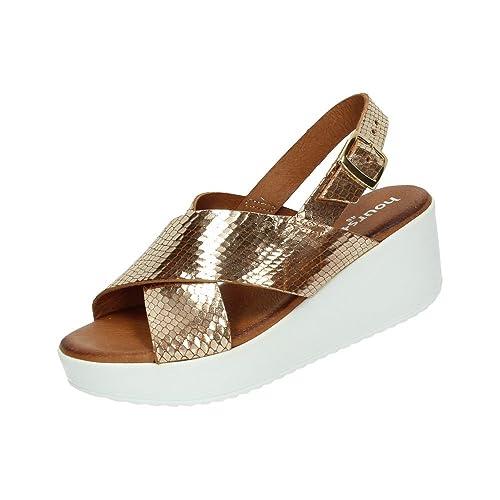 48 Donna Horas 40 it E Scarpe Borse Size Sandali Oro Amazon wqpwZ6f