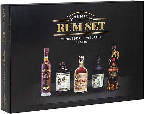 Premium Rum Tasting Set 5 x 50 ml : Ron Botucal Exclusiva ...