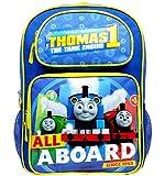 Backpack - Thomas The Tank Engine - All a Board Blue 16 School Bag TECF05