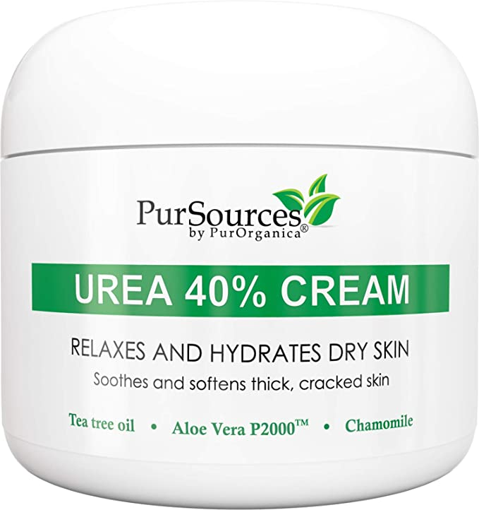 PurOrganica Urea 40% Foot Cream - Best Callus Remover - Moisturizes & Rehydrates Thick, Cracked, Rough, Dead & Dry Skin - For Feet, Elbows and Hands + Pumice Stone - 4 oz   Amazon
